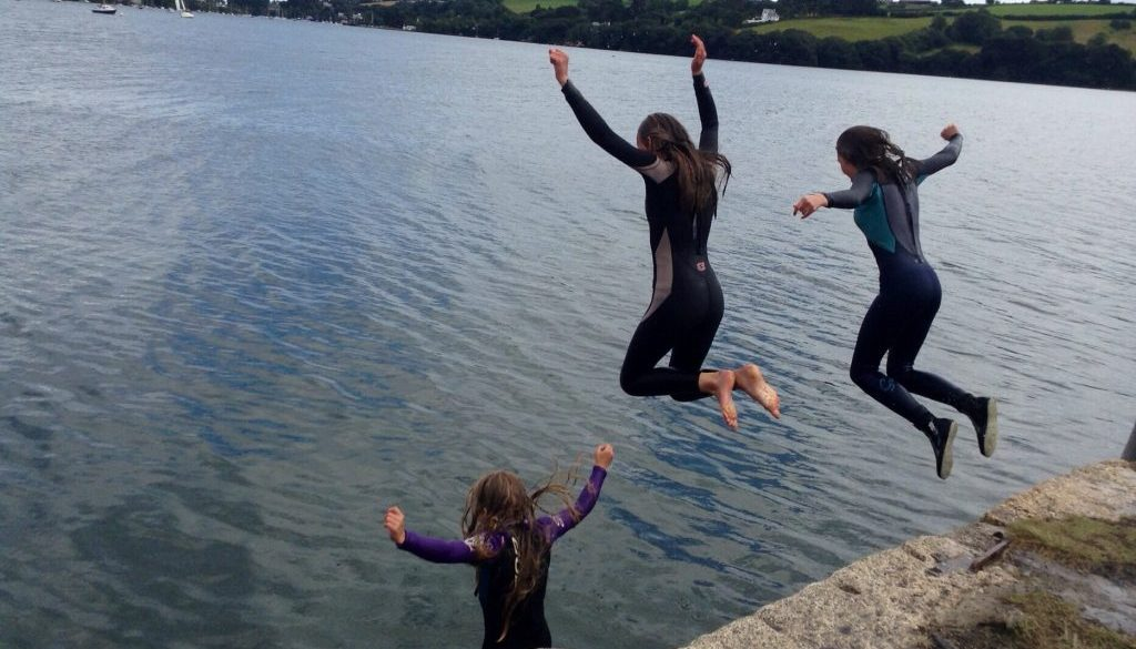 Quay jumping and the cinema