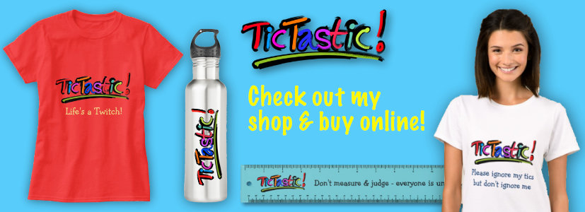 Shop for Tourettes inspired gifts